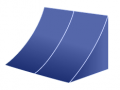 Concave Style Awning