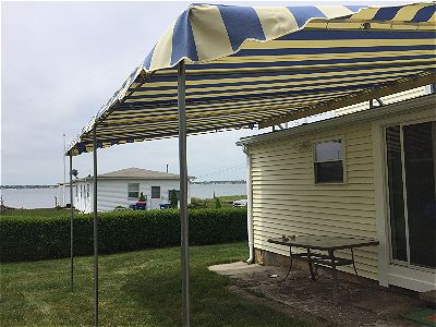 Custom Patio Canopy Installation In Fairhaven Ma American Awning
