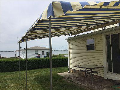 Custom Patio Canopy Installation In Fairhaven MA