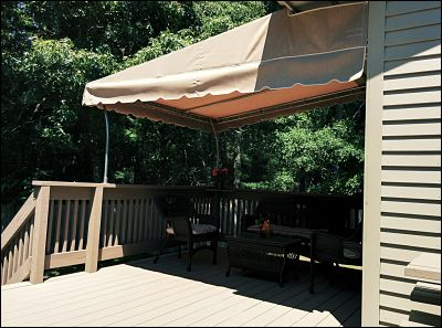 Pipe Frame, Stationary Deck Awnings in Wareham and ...