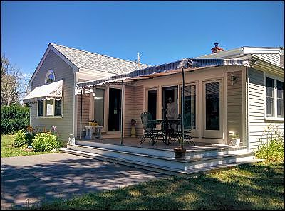 canvas window awnings old shade essentials pipe frame canvas deck awning fairhaven ma