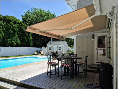 Retractable Awnings With New Canvas Covers Look Good As New