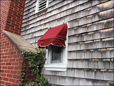 Our Canvas awnings can accommodate any size window.  Big, or small, we do it all.