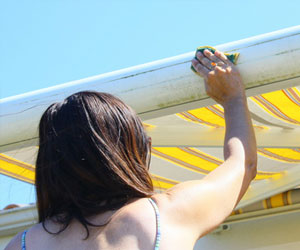 Cleaning Awnings