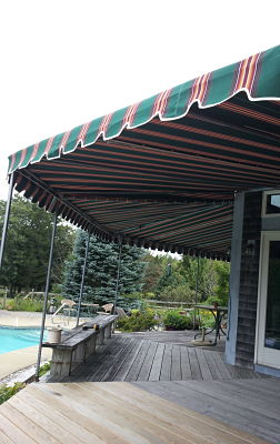Years of experience have enabled us to deliver custom awnings of any shape or size, to fit the exact needs of our customers.