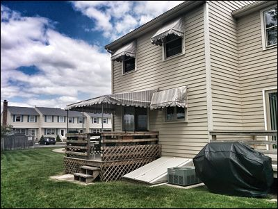 Some condo owners have great patio and deck areas, perfect for awnings but no place to store them.  Thats where a local company like us comes in ready to service and store the awnings they want.