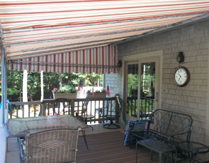 Rigid Frame Patio Canopy